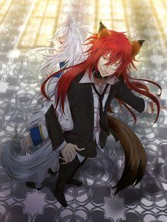 Detective Inaba ~~ Brothers! Haruka and Hiroshi in Wolf form