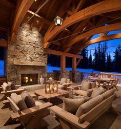Mountain Home by Denton House Design