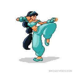 When Disney Princesses Meet Capcom