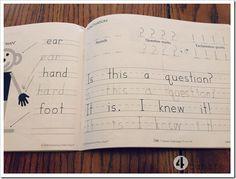 handwriting without tears homeschool kindergarten (same curriculum as Monroe Christian School)