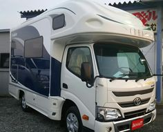 Hike 'n See Fukuoka and Kyushu: Brand new CREA Evolution has arrived at Camper Rental, Camper Caravan, Rv Campers, Hair Shaver, Luxury Rv, Kyushu, Fukuoka, Pine Cone, Rv Living