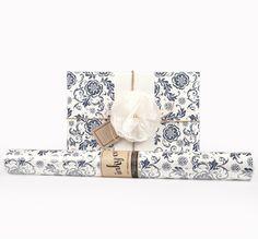 Inky Co.'s Enviro Fleur Indigo roll wrap