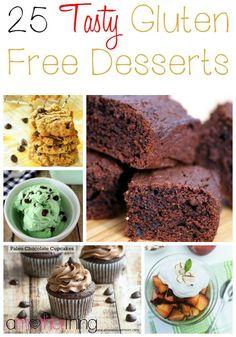 25 Tasty Gluten Free Desserts