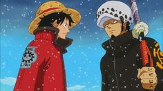Law #Luffy Collaboration #NewWorld #Anime #OnePiece