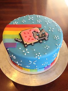 Nyan cat cake. Balsam street bakery.