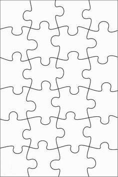 RobbyGurl's Creations: DIY Print, Color & Cut Jigsaw Puzzles – Regalos Puzzle Piece Crafts, Puzzle Pieces, Puzzle Art, Boyfriend Anniversary Gifts, Diy Gifts For Boyfriend, Anniversary Gift Ideas For Him Diy, Puzzle Piece Template, Escape Room, Diy Birthday
