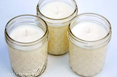 Life At Cobble Hill Farm: Making Soy Candles