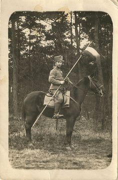 ps1915  Prussian Husar.WW1
