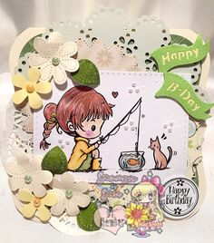 My project for Star Stampz challenge with this adorable image. http://starstampz.blogspot.com.au/ More info on my blog http://sasayakiglitter.weebly.com/
