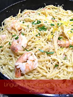 Linguine With Shrimp Scampi Sauce  - Powered by @ultimaterecipe