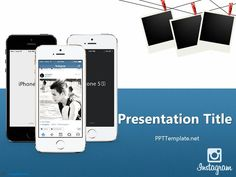 Free Instagram PPT Template