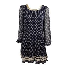 Lace Dress Polka-Dot, £17, now featured on Fab.