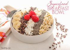 SUPERFOOD Chocolate Breakfast Bowl!