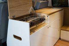 VW T5 kitchen pod