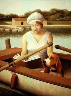 Mujer leyendo en la playa, 1994      Solitude, 1999         Isabel, 1997      Leyendo en Hyde Park      Le cancion de Betty Smith         ...