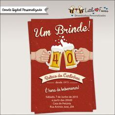 Convite Festa Boteco para imprimir