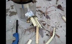 Homemade Rocket Stove