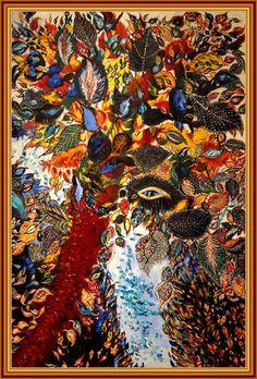 Séraphine Louis (Séraphine de Senlis), Tree of Paradise, Art Brut, Gustav Klimt, Love Art, Art History, Wood Crafts, Tarot, 3 D, Street Art, Paradise