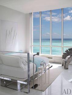 Bedroom Bliss. Beach bedroom. Interior Design: Jennifer Post