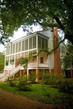 Oakley Plantation Saint Francisville West Feliciana Parish Louisiana Built c 1799-1800 is the House where John James Audubon (1785-1851) Painted Many of his Ornithological PAINTINGS.