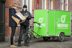 a green, cheap and fast bicycle-powered moving company #2 | sweden