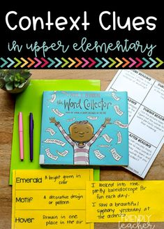Teach context clues using these highly rigorous and engaging lesson plans. Many close reads, mentor texts, and small group lesson plans provided! Reading Strategies, Reading Skills, Teaching Reading, Reading Comprehension, Comprehension Strategies, Reading Intervention, Reading Response, Context Clues Games, Third Grade Reading