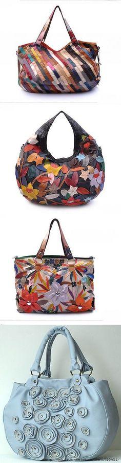Bags of leather pieces...♥ Deniz ♥