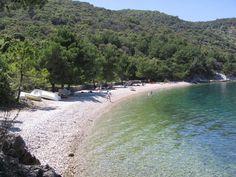 plaža Valun, otok Cres