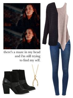 Hayley Marshall - the originals by shadyannon on Polyvore featuring polyvore fashion style Topshop H&M Frame Denim ALDO clothing