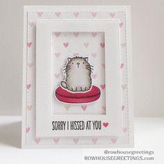 I'm Sorry Card Cute Apology Card Forgive Me by RowhouseGreetings