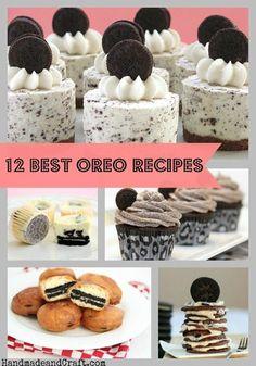 12 Best Oreo Recipes at HandmadeandCraft.com For Morgan