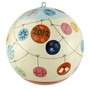 Kids Ornaments: Blanca Gomez Good Year Ornament in Ornaments