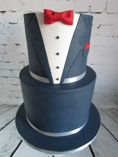Suit birthday cake as seen on Cape Sugar Craft