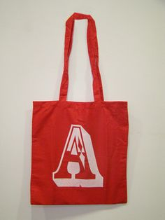Tote bag by Hellodesign ® Letter  For sale info@hellodesign.es