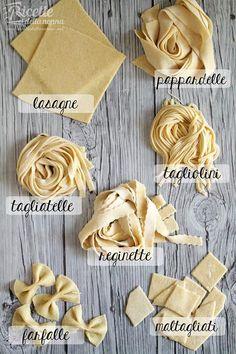 Formati di pasta all'uovo fatta in casa buono tutor ricettedellanonna.net/pasta-alluovo/amp/