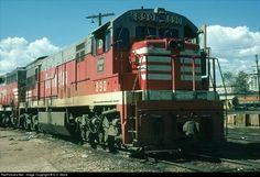 RailPictures.Net Photo: 890 Colorado & Southern GE U30C at Denver, Colorado by E.D. Motis