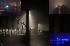 Seltsam im Nebel zu wandern