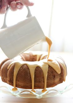 bleuchocolat: Brown Sugar Pound Cake・Barefeet in the Kitchen