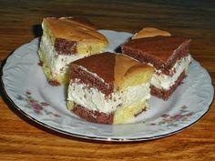 rozczochrane okruszki: Pasiaste ciasto.