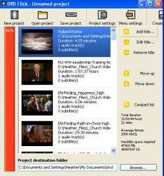 how to download and burn mormon messages to dvd