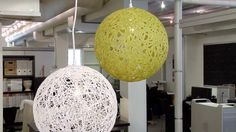 An awesome tutorial on how to make these expensive looking, modern pendant lights.