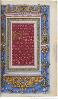 Heures à l'usage dominicain , dites Heures de Frédéric d'Aragon | Gallica