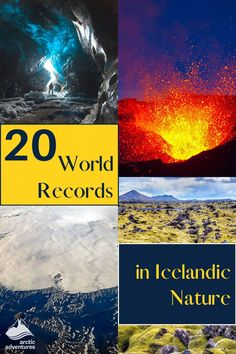 Icelandic nature is even more unique than you might think. This isn't only from the eye or through your camera lens, but also according to science! Iceland's geography, geology, and biology is among the most unique in the world. In fact, it's so unusual that it has broken several world records. Read on to find out which world records in Iceland the mysterious wilderness has broken. Iceland Travel Tips, Cultural Events, World Records, Camera Lens, Geology, Geography, Arctic, Mysterious, Wilderness
