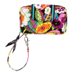 Smartphone Wristlet | Vera Bradley $49 in ribbons pattern/color