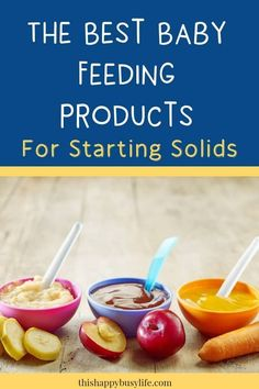 Introducing solids to your baby is an exciting, messy and slightly terrifying process. To make your life easier I've compiled a list of the best baby feeding products I've used when introducing solids to my kids. Feeding Baby Solids, Solids For Baby, Baby Feeding, Starting Solids Baby, When To Introduce Solids, When To Start Solids, Introducing Solids, Baby Led Weaning, Baby Hacks
