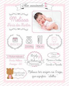 Designer Baby, Baby Pictures, Baby Photos, Album Baby, Scrapbook Bebe, Baby Girl Birth Announcement, Baby Posters, Baby Frame, Baby Journal