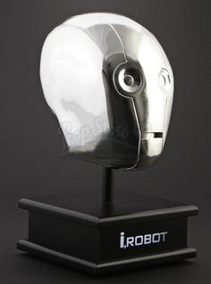 Chrome NS-4 Head Display from I, Robot