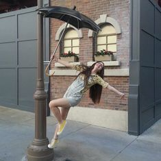Love this! Singing in the Rain at Hollywood Studios!