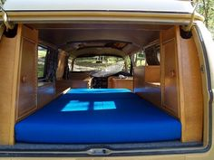 Volkswagen Camper custom interior   ... layed out...one of the nicest custom camperinteriors I have seen yet