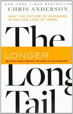 The Long Tail: Why the Future of Business Is Selling Less of More von Chris Anderson, http://www.amazon.de/dp/1401309666/ref=cm_sw_r_pi_dp_o.hIsb1HKSJ72